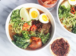 Whole 30 /Paleo Instant pot short rib ramen