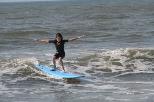addie surfing