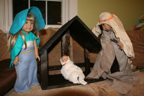 american girl nativity