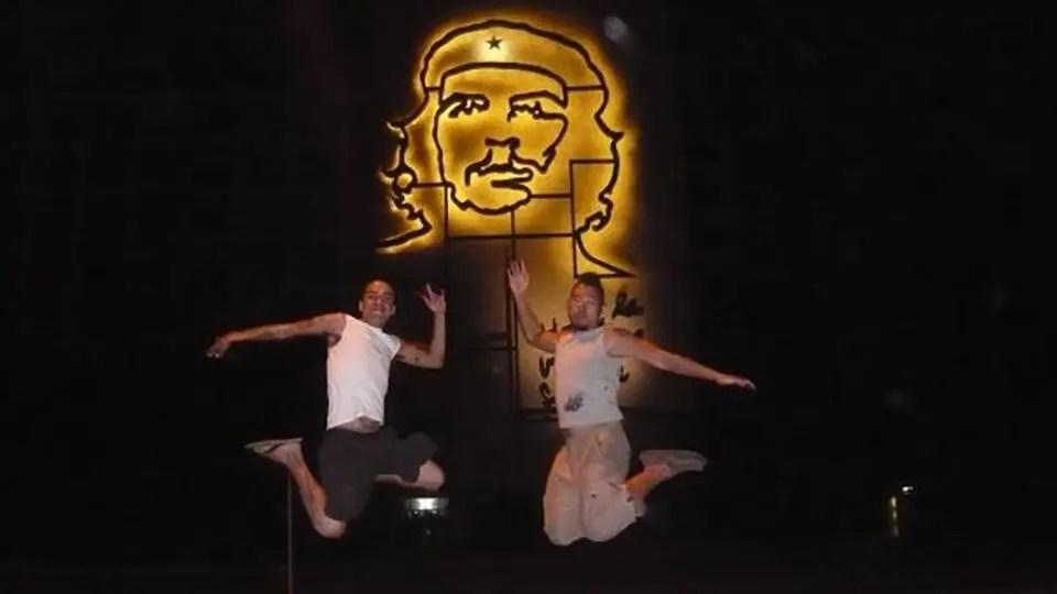 Carlos and Jason in Cuba