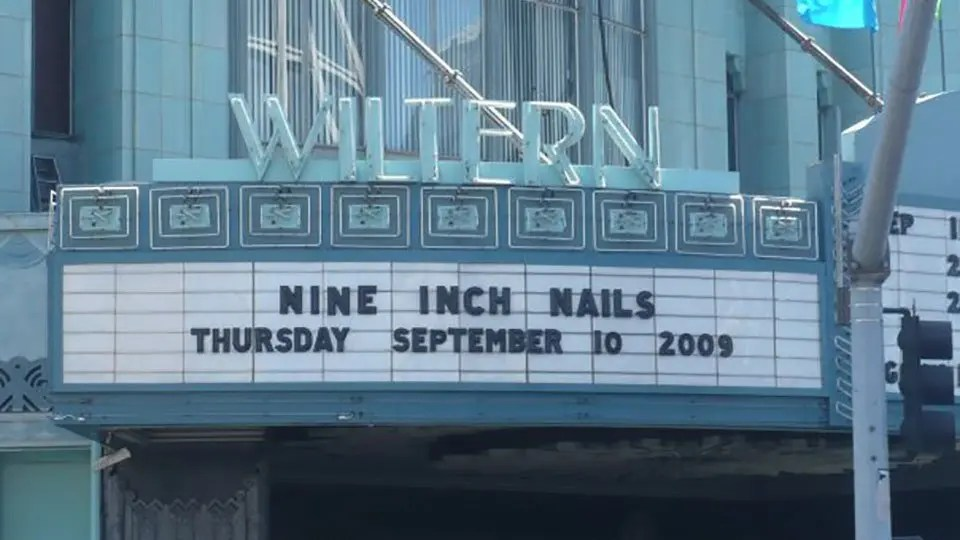 Nine Inch Nails Wiltern