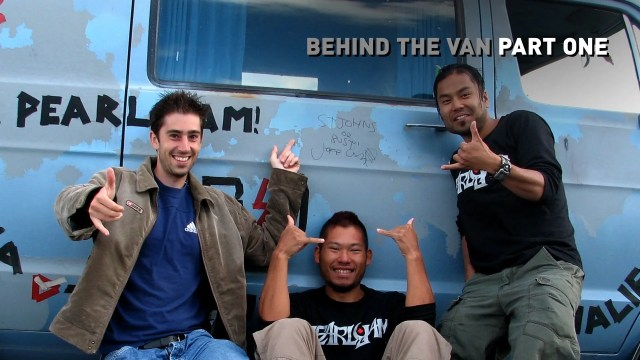 Behind the Van (Pearl Jam Touring Van)