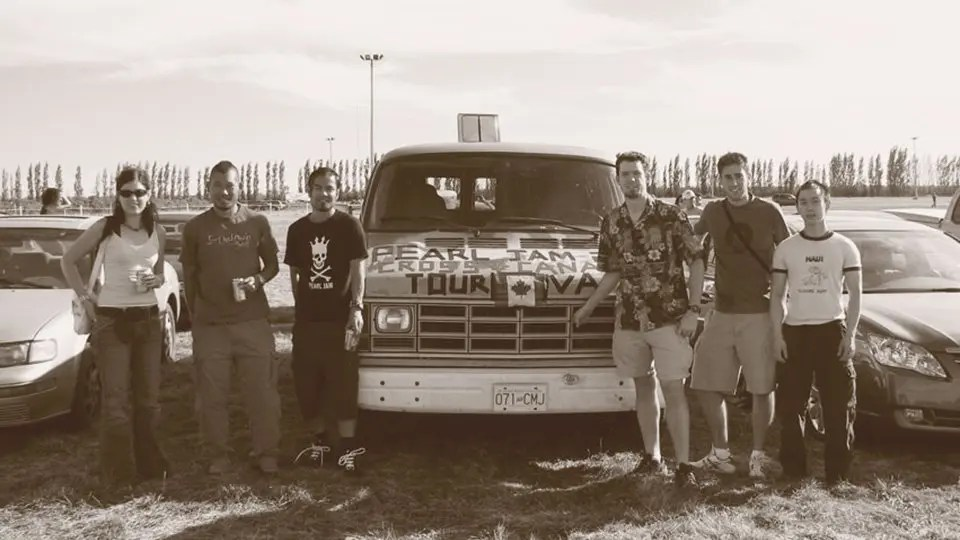 The Original Touring Van Crew at The Gorge in 2005