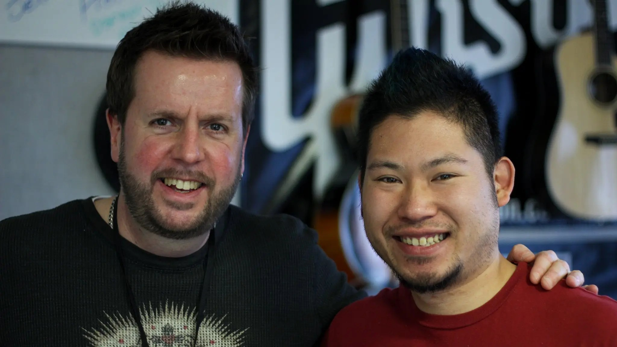 Neil Morrision and Jason Leung