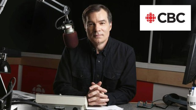 Stephen Quinn on CBC radio