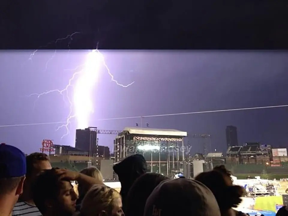 The Lightning Bolt from the Wrigley Show
