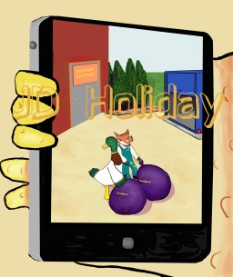 Janoose 2 page 13 fox on phone cameraSIGNED FOR ONLINE