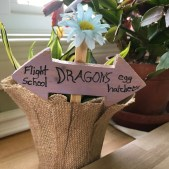 Fairy Planter Signs $10