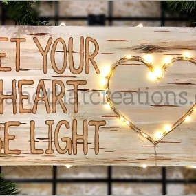 Let your heart be light SOLD OUT