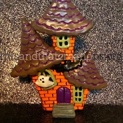 Haunted House Figurine $12