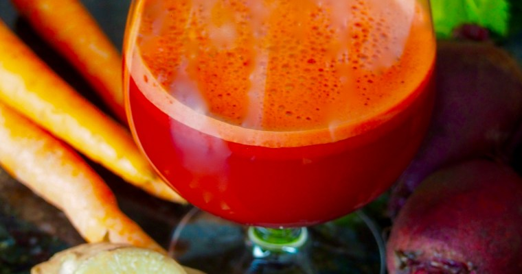 Beet Carrot Ginger Juice: The liver detox benefits of beets