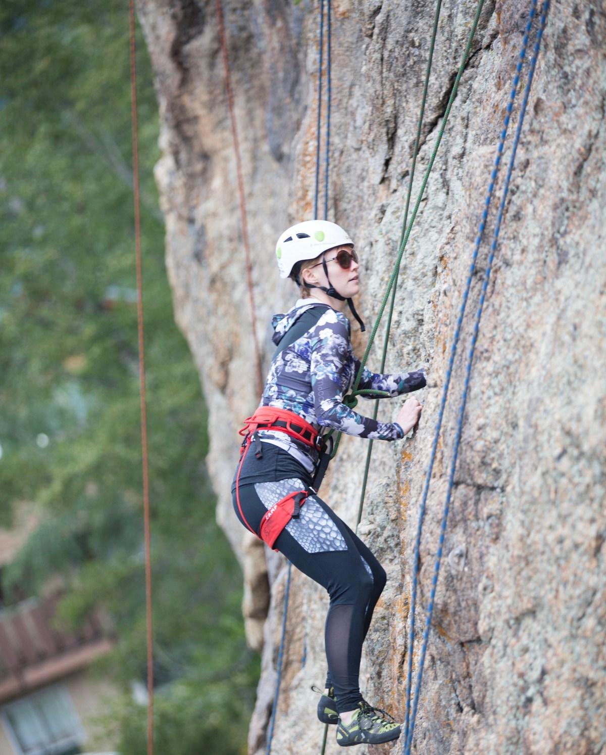 rock climbing Estes Park Colorado