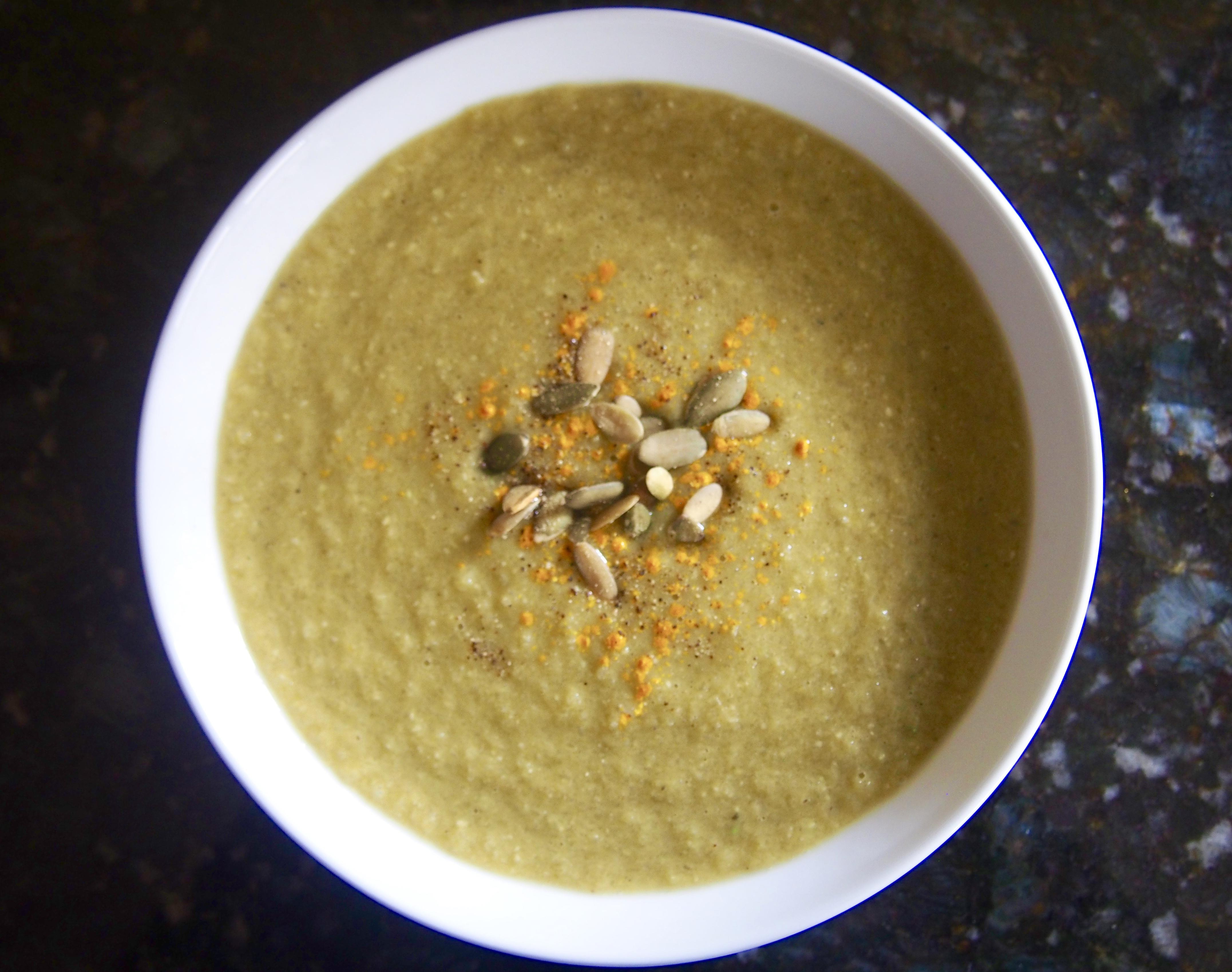 Creamy Celery Soup: Vegan Paleo Keto-Friendly Recipe