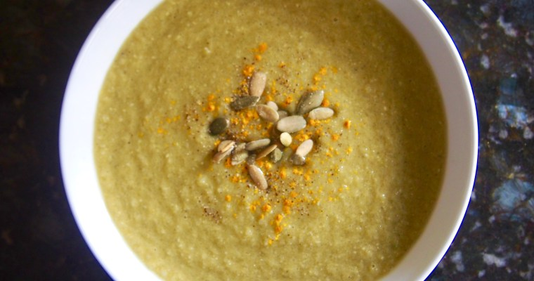 Creamy Celery Soup: Vegan Paleo Keto-Friendly Recipe