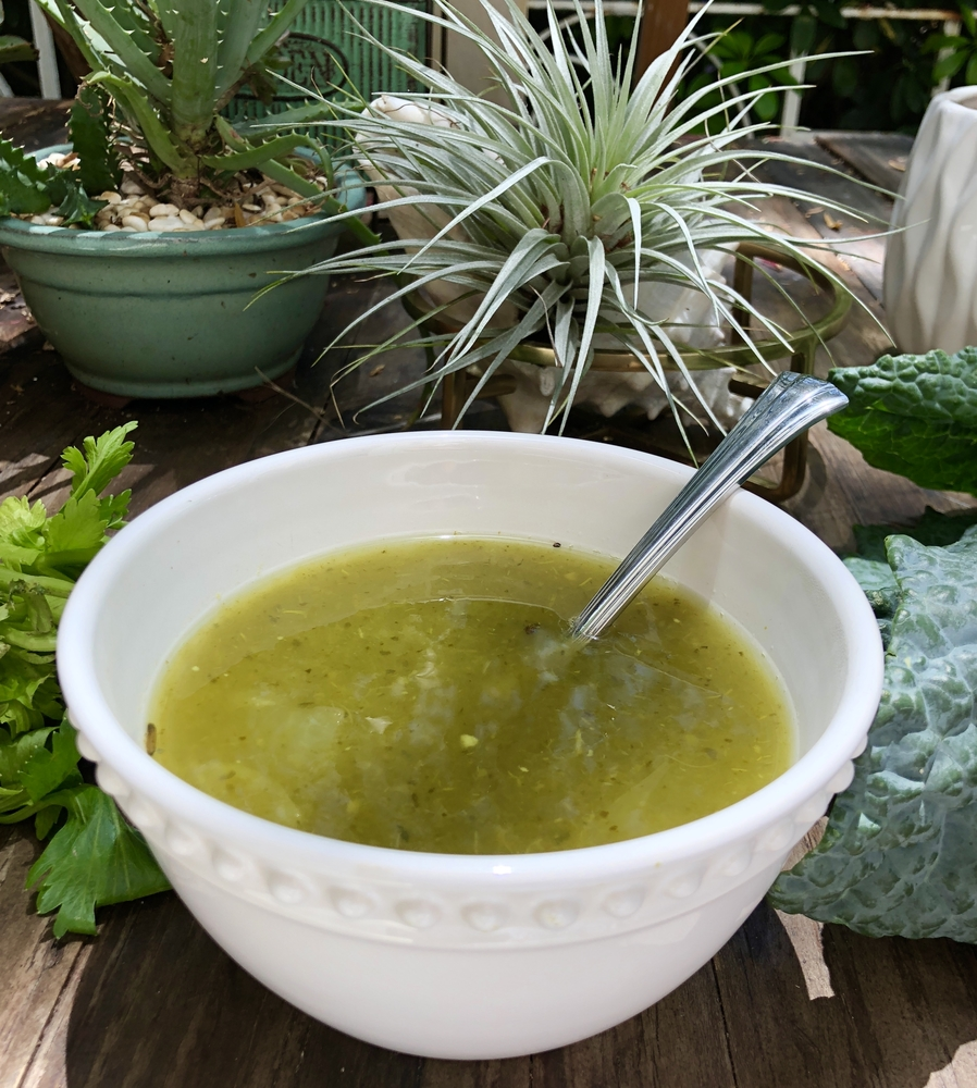 Candida Cleanse Anti-Candida Vegetable Broth: Delicious Cleansing