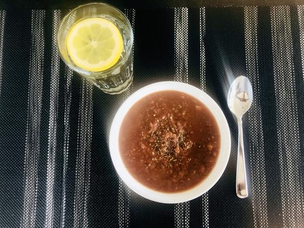 cold raw gazpacho soup recipe