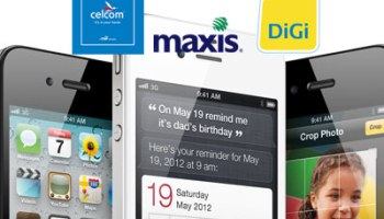 iPhone 4 16GB Price Fight! Celcom Vs  Maxis Vs  Digi | This
