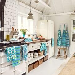 Kitchen Linens Trolley Modern Retro