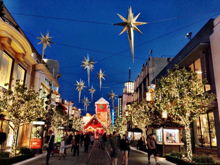 Grove Los Angeles Lights