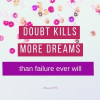 3 POWERFUL WAYS TO GET PAST SELF DOUBT!