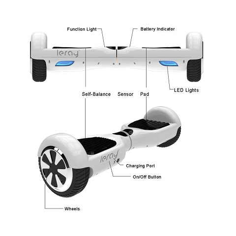 Leray Self Balancing Scooter Balance Motion 6.5