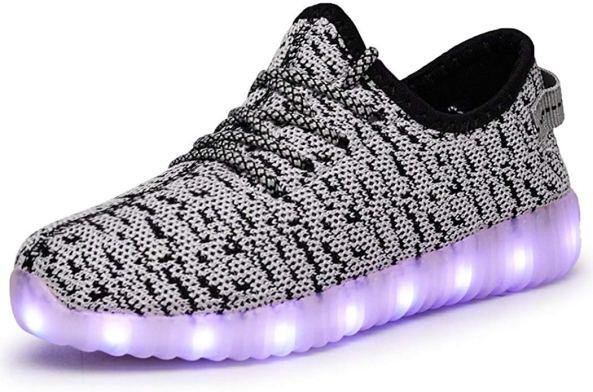 7 Colors LED Luminous Unisex Sneakers