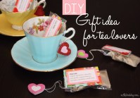 DIY: crafty gift idea for tea-lovers | This Bird's Day
