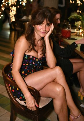 MIAMI, FL - DECEMBER 06: Helena Christensen attends Adidas Originals, British Fashion Council and David Beckham host a dinner in celebration of their creative collaboration on December 6, 2018 in Miami, United States. (Photo by Getty Images/BFC/Getty Images for BFC) *** Local Caption *** Helena Christensen