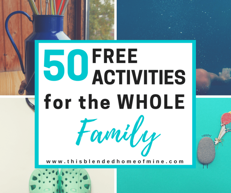 FREE ACTIVITIES FOR THE WHOLE FAMILY