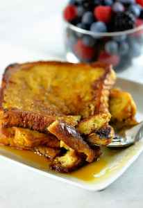 french-toast-recipe- 20 Cheap Dinner Ideas for When You Are Skint on Money, Food, or Time- This Blended Home of Mine