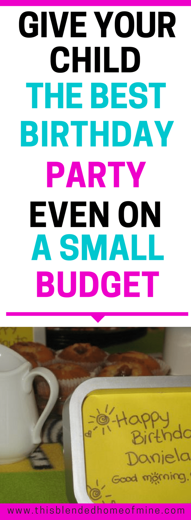 DIY Children's Birthday Party on a Budget - This Blended Home of Mine - DIY Birthday Party Games, Activities
