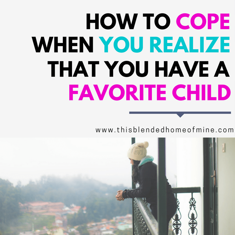 How To Cope When You Have A Favorite Child