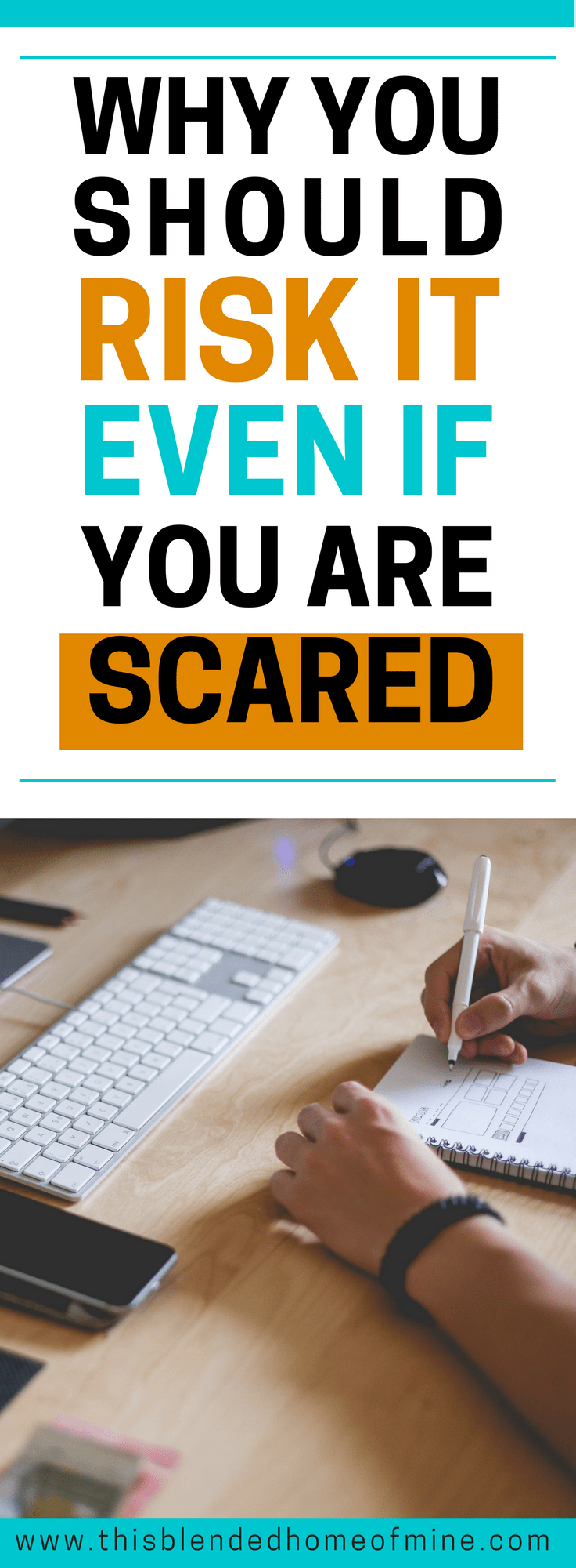 It's okay to be scared, but do it anyway! Why You Should Not Trust Your Gut - This Blended Home of Mine _ Gut feeling, Trust your gut, Intuition, Self Improvement, Personal Development