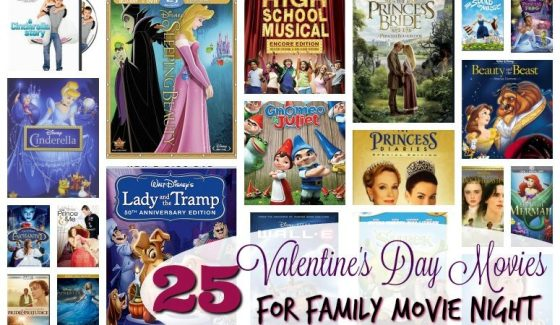 Valentines Day for the Whole Family - Movie Night