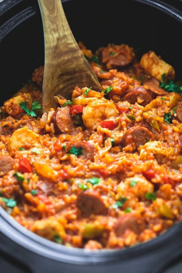 Easy Slow Cooker Recipes - Jambalaya