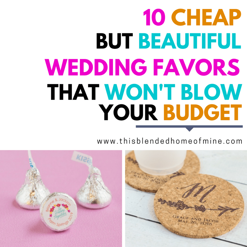 10 Cheap But Beautiful Wedding Favor Ideas that Won't Blow Your Budget