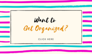 Get Organized - This Blended Home of Mine