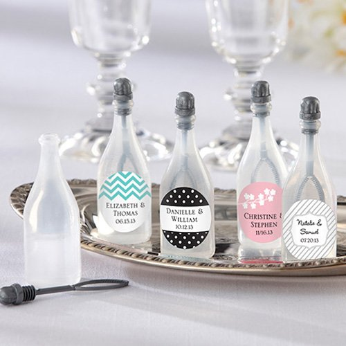 Wedding Favors That Won't Blow Up Your Budget - Personalized Bubble Bottles