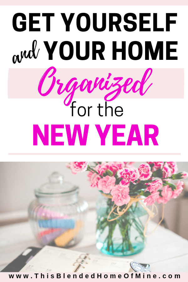 Get Yourself Organized for 2019 - This Blended Home of Mine - Organization hacks, organization products, Amazon