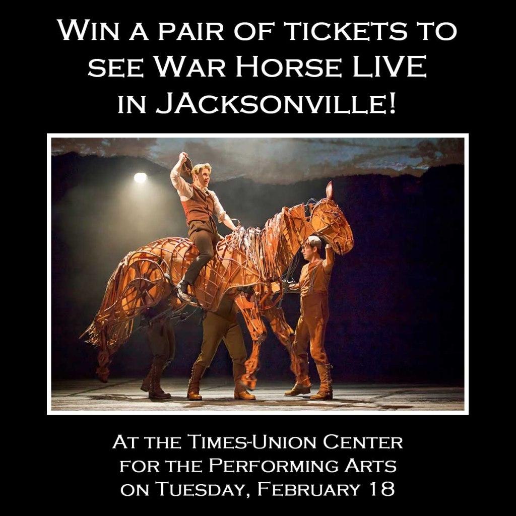 War Horse Giveaway (Jacksonville)