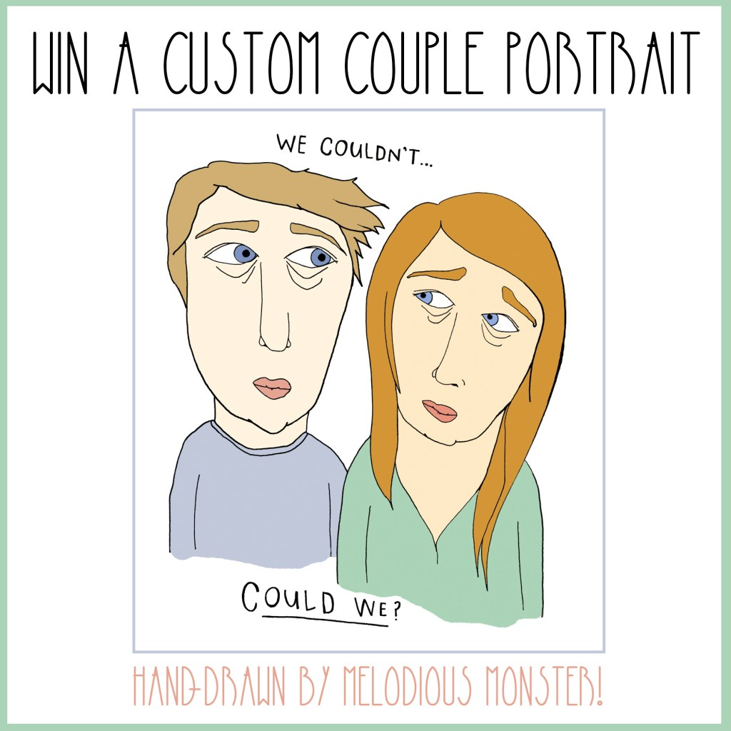 Local Artist, Hand-Drawn Prints, and a Custom Portrait Giveaway!
