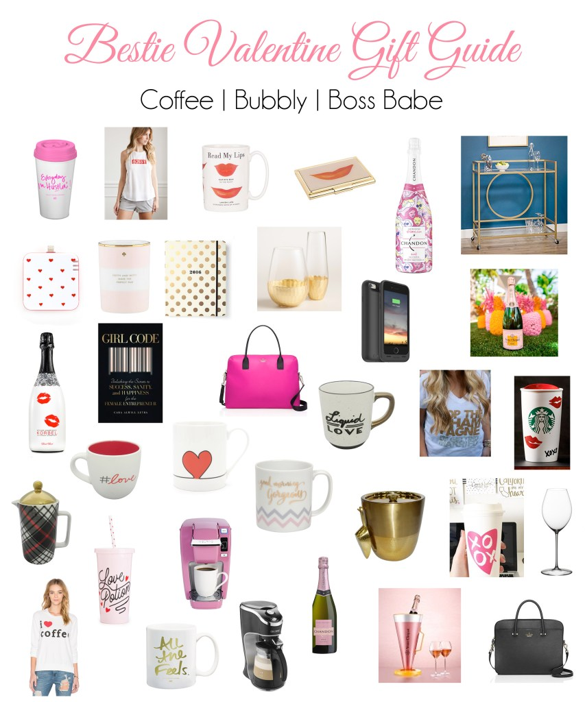 GALentine's Gift Guide for Your Bestie   Part 2: Coffee, Boss Babe and Bubbly + Giveaway!