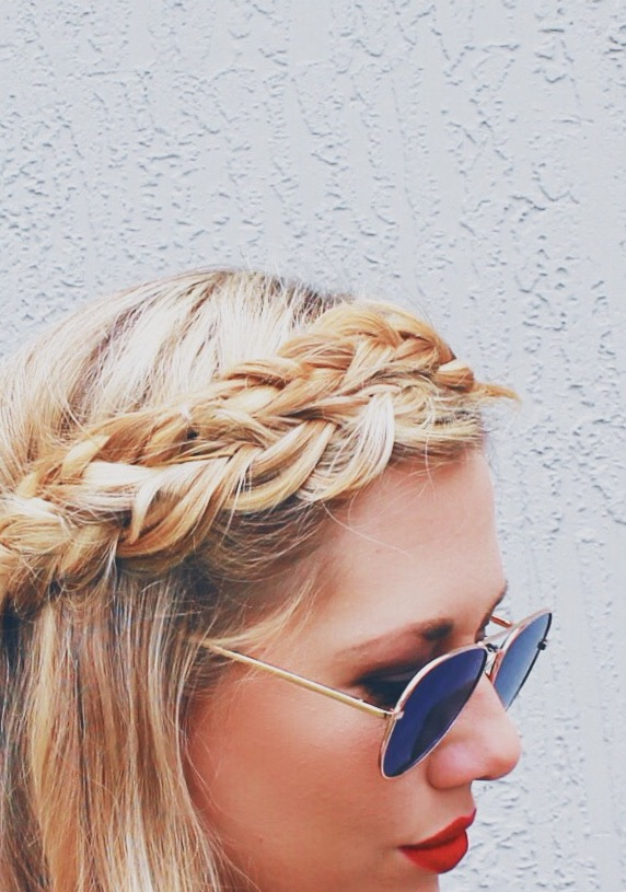 Crown Braid + Loose Waves | Video Tutorial