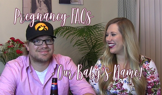 27 Week Update + Our Baby's Name | Video