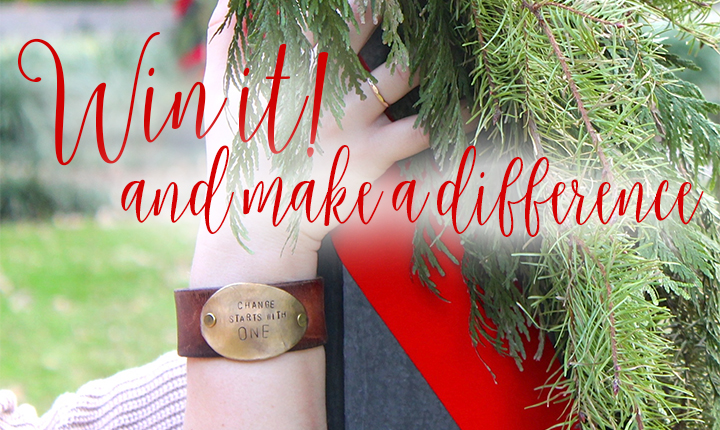 Be the Change | Leather Cuff Giveaway