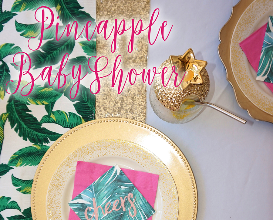 Tropical Pineapple Baby Shower