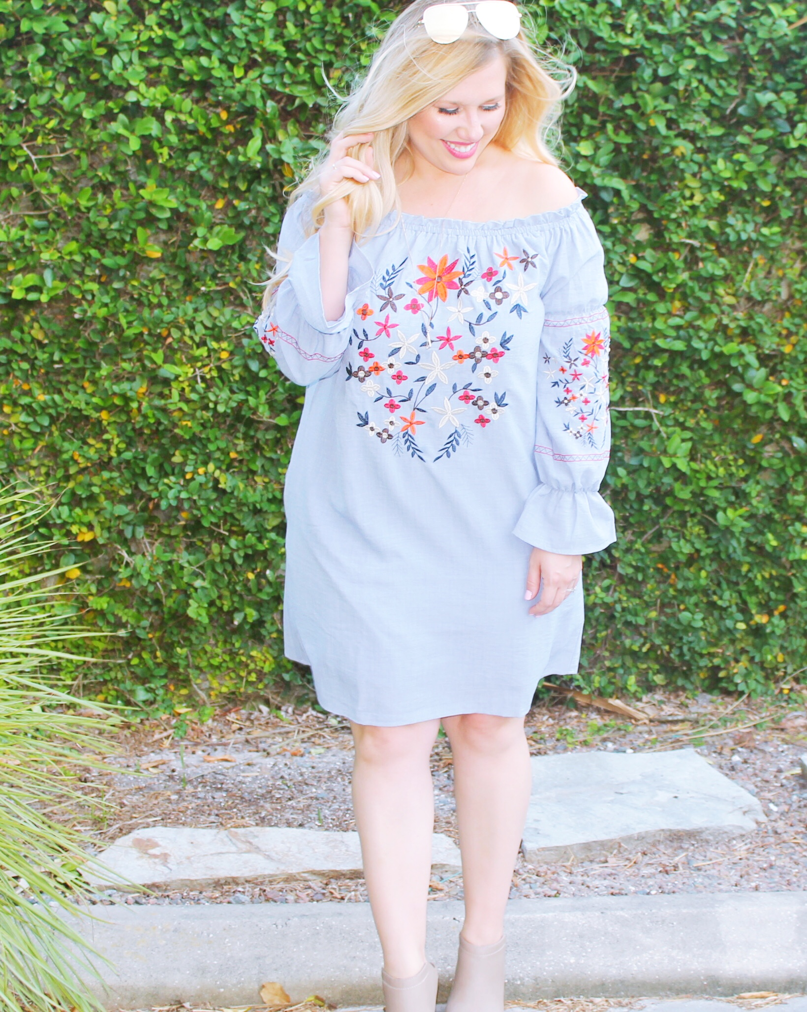 Embroidery + Ruffles