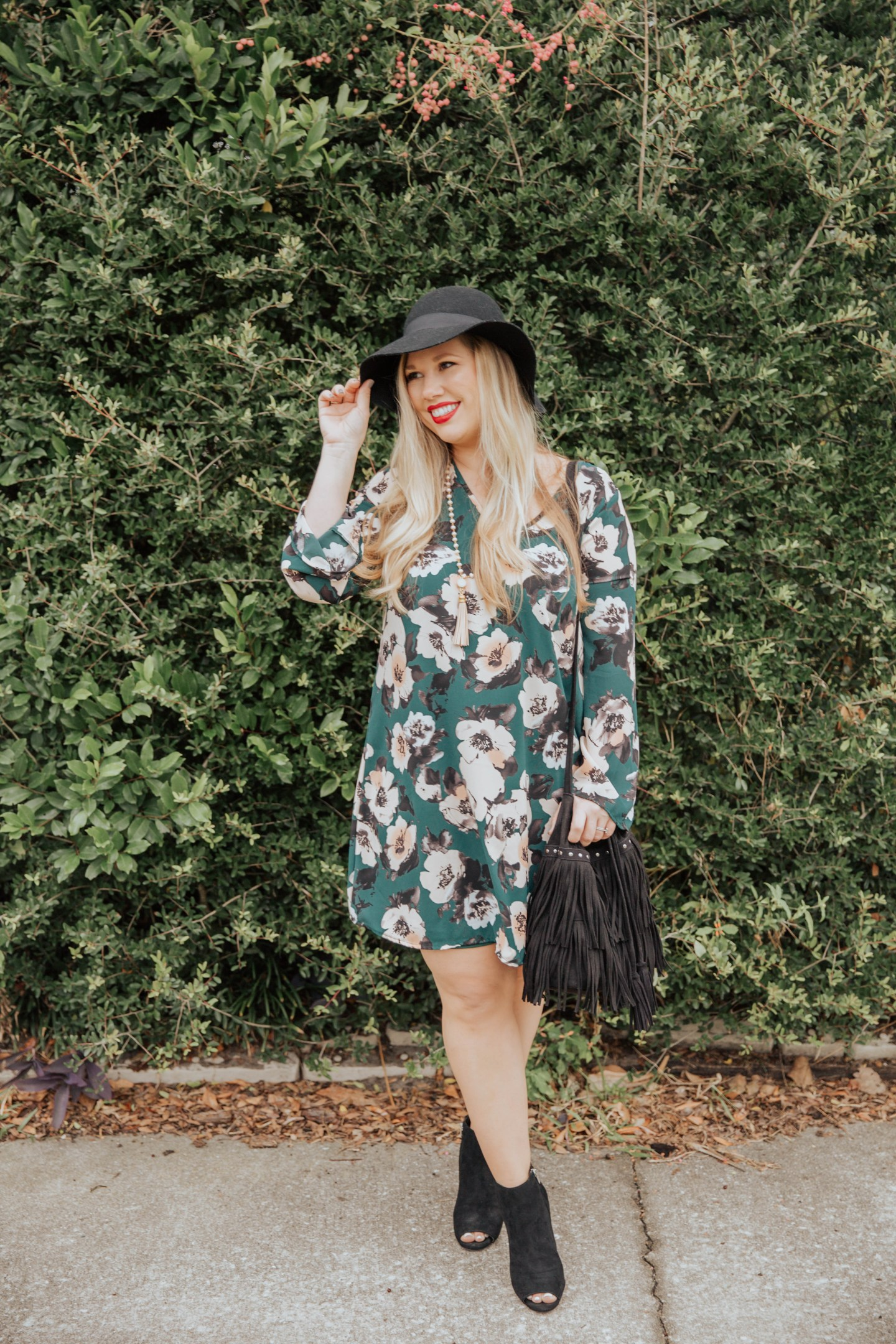 Boho Floral Dress, Black Friday + $75 Giveaway