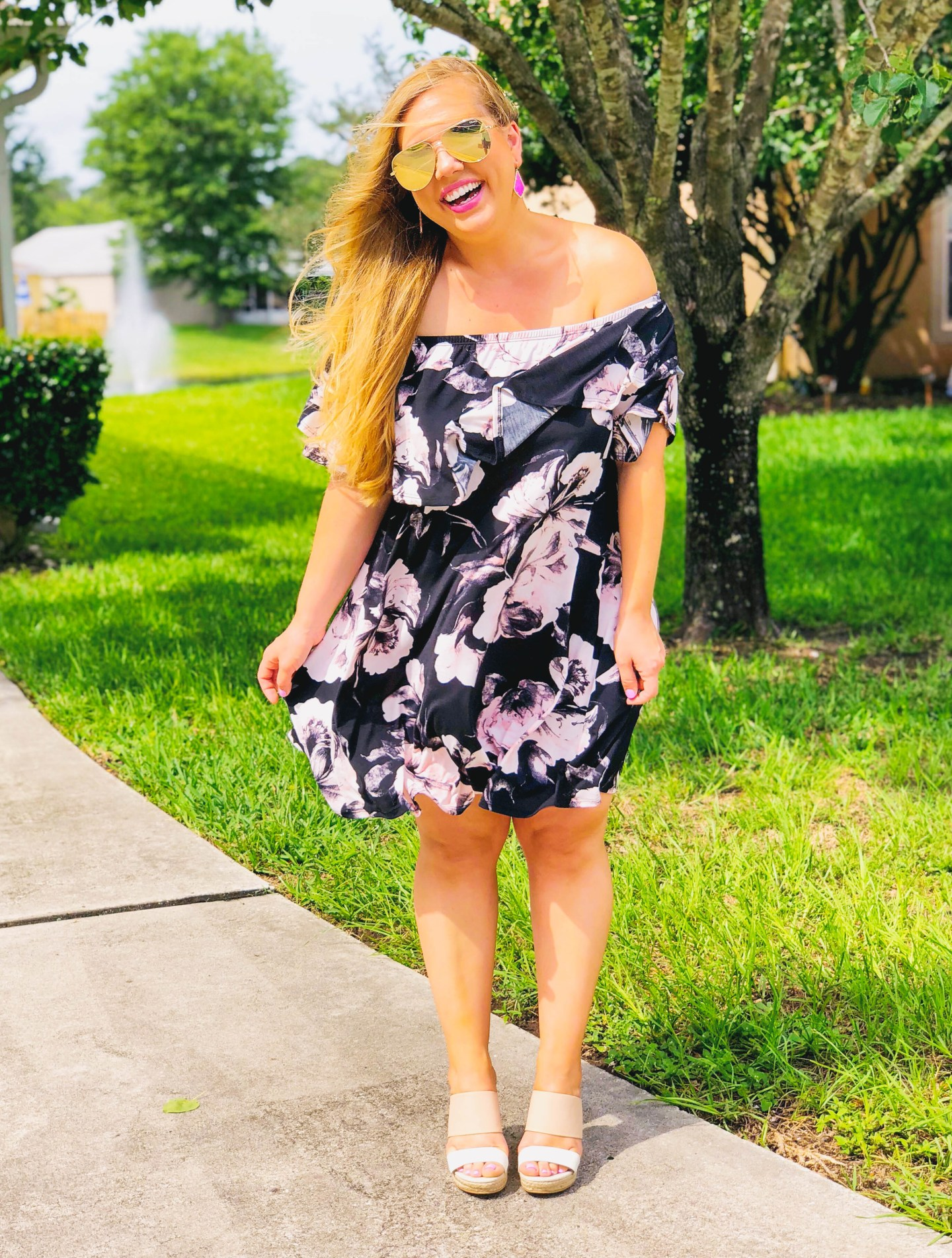 Affordable Boutique Dresses (with POCKETS!) + Free Shipping Code
