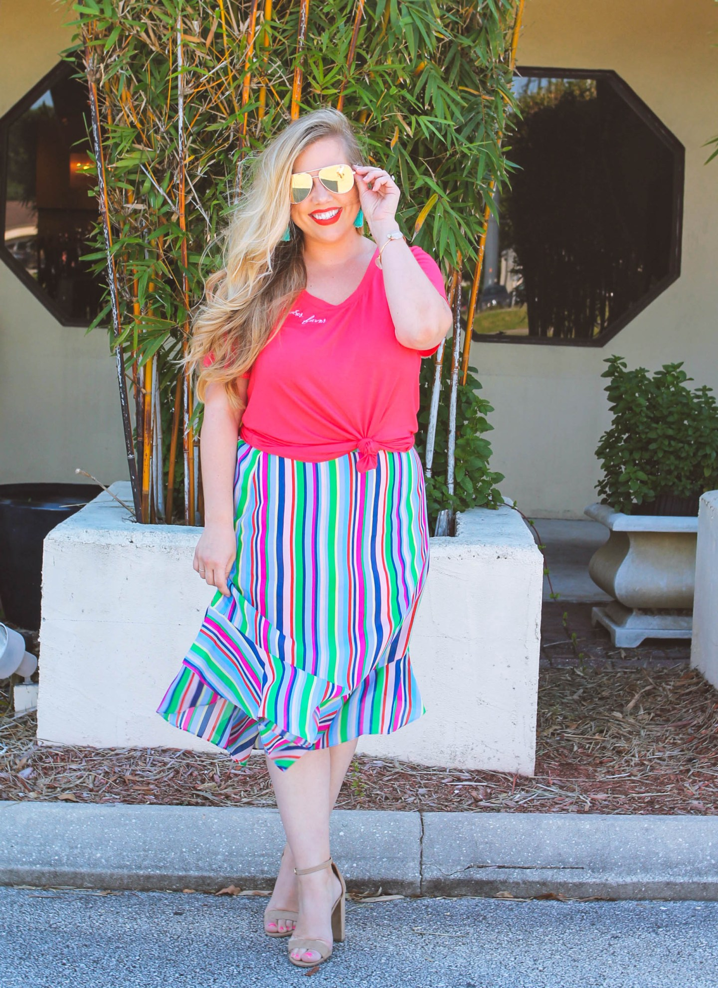 Stripes + Bright Colors